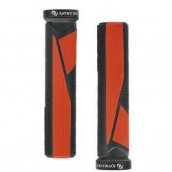 Poignées Syncros Pro Lock-On Red