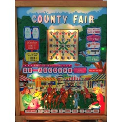 Bally County Fair 1959 Backglass