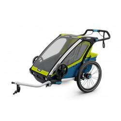 Chariot Enfants Thule Sport 2 (Chartreuse)