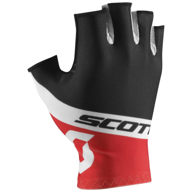 Gants Scott RC Team SF Black / Tangerine orange